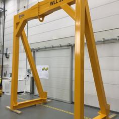 W2E Hoisting frame