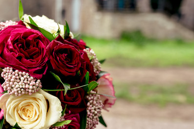 Braut - Blumenstrauß