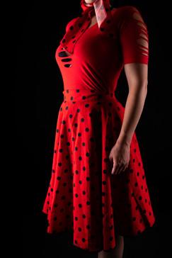 Kleid + Body ( verspielt - sexy )