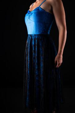 Kleid ( Vintage - Western )