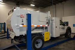 CNG REFUSE TRUCK