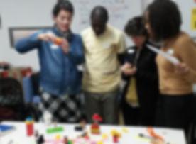 Participatory workshop session