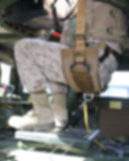 BMI Defense Systems Gunner Seat and Restraint
