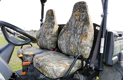 John Deere Gator XUV825 XUV855 High Performance Sport Seat Cover Realtree EDGE Camo