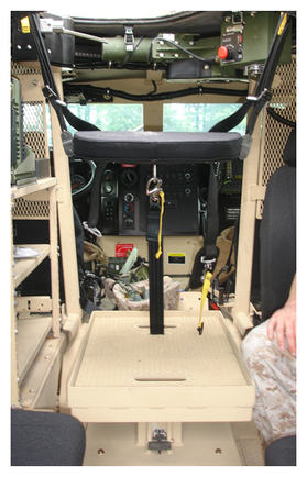 BMI Defense Systems MRAP M-ATV Gunner Protection Package GPP