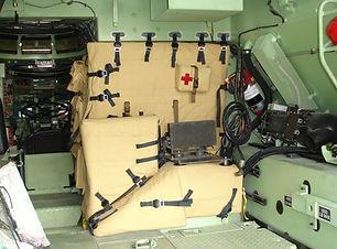 BMI Defense Systems Soft Armor USMC LAV Light Armored Vehicle Doghouse Ballistic Blanket