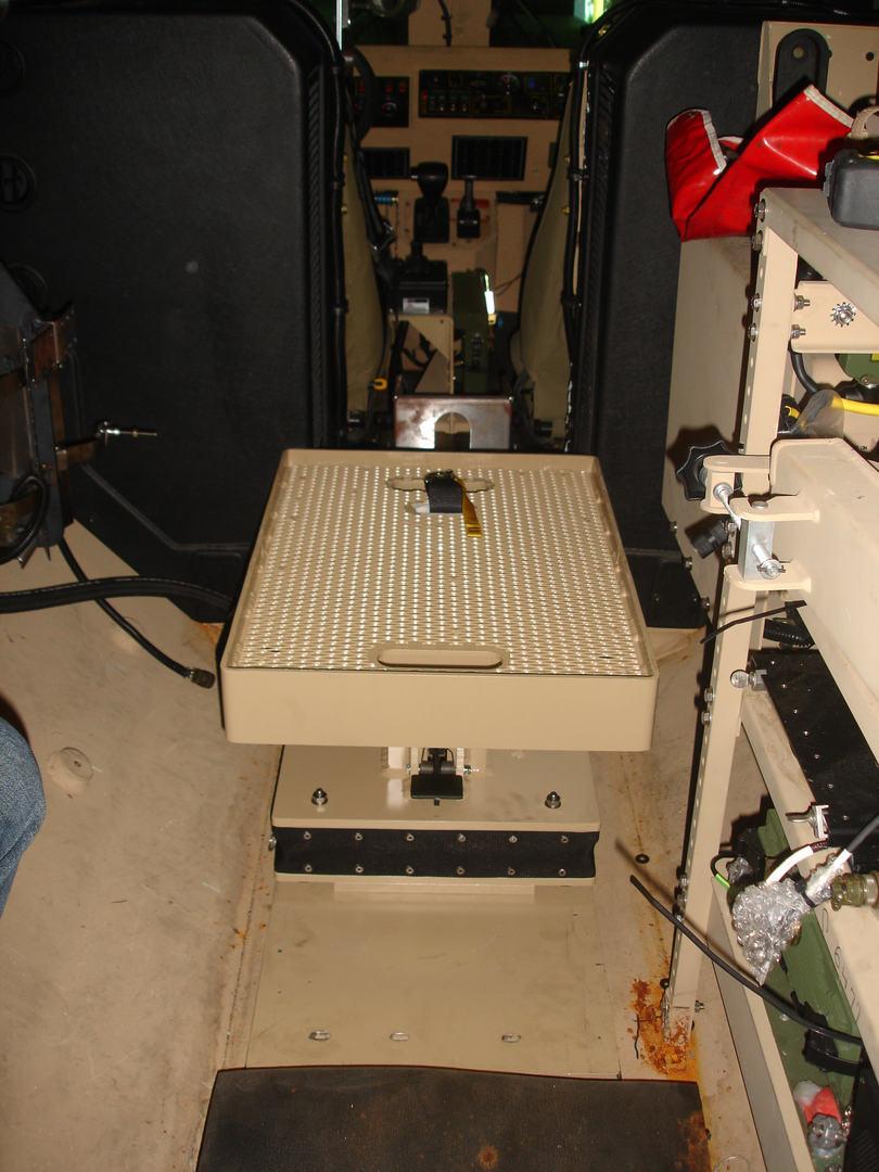BMI Defense Systems MRAP Energy Attenuating Gunner Platform