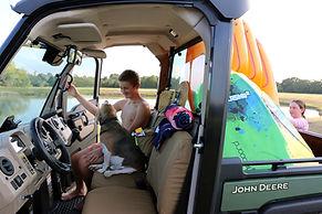 John Deere Gator XUV 835 865 Coyote Brown Seat Covers