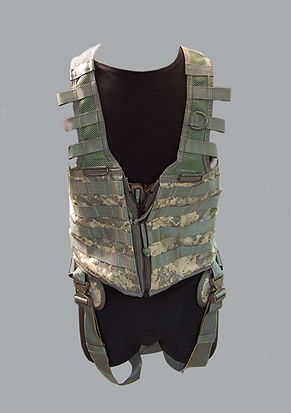 Air Warrior System,Primary Survival Gear Carrier,PSGC Vest Harness,P/N 1005853-3,NSN 8415-01-513-8145,P/N 1005804-5,NSN 8415-01-513-8143