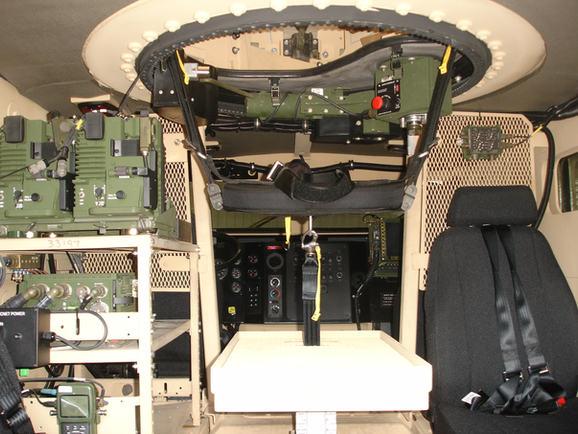 BMI Defense Gunner Seat and Restraint