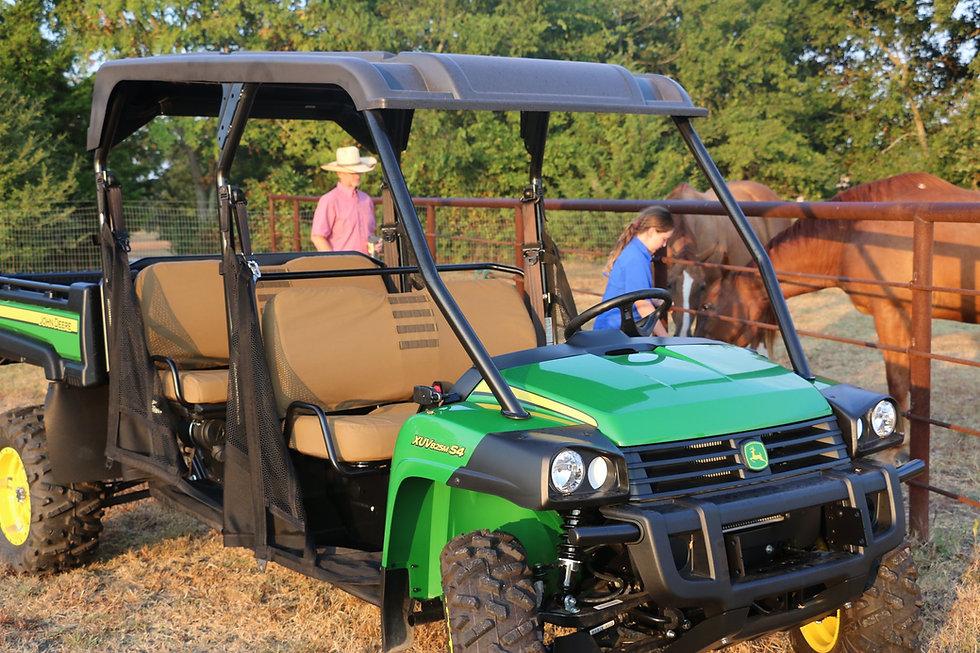 Coyote Brown 825 John Deere Gator Seat C