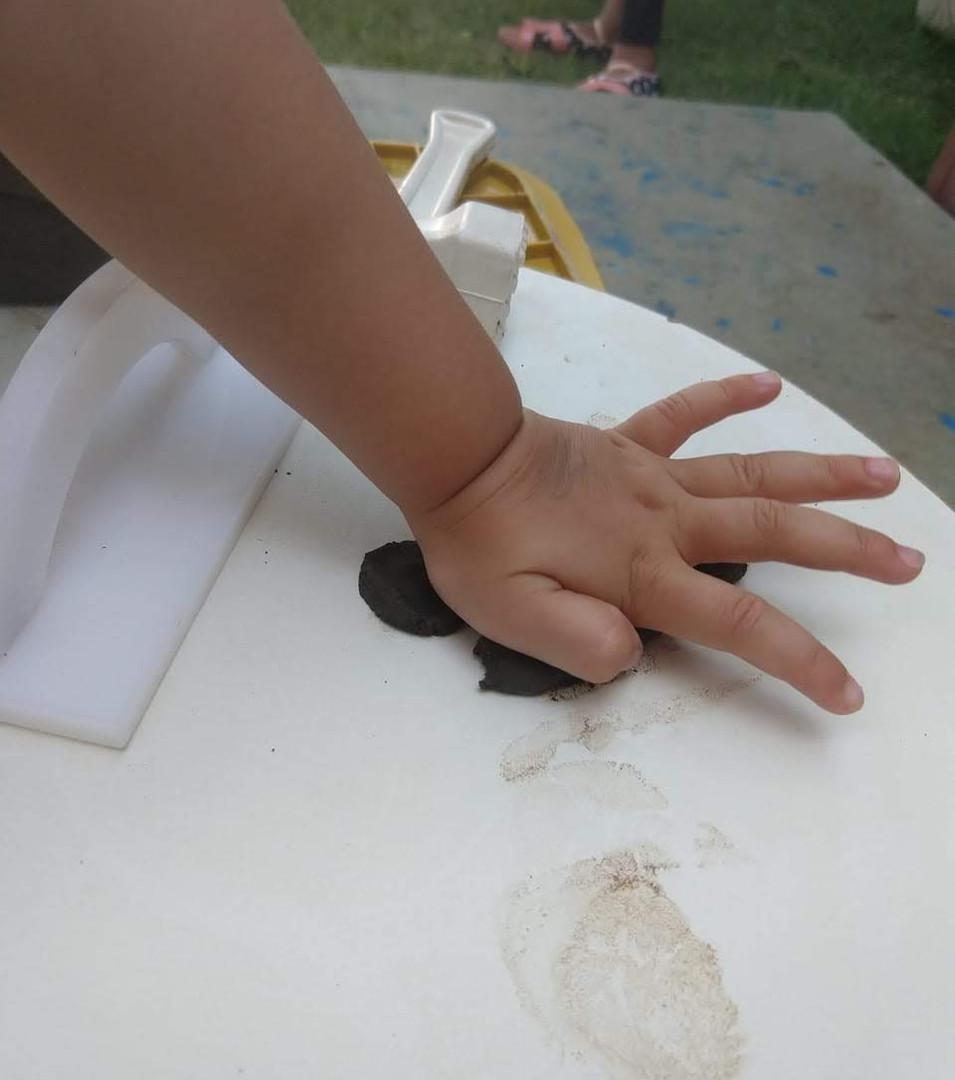 atividade com argila