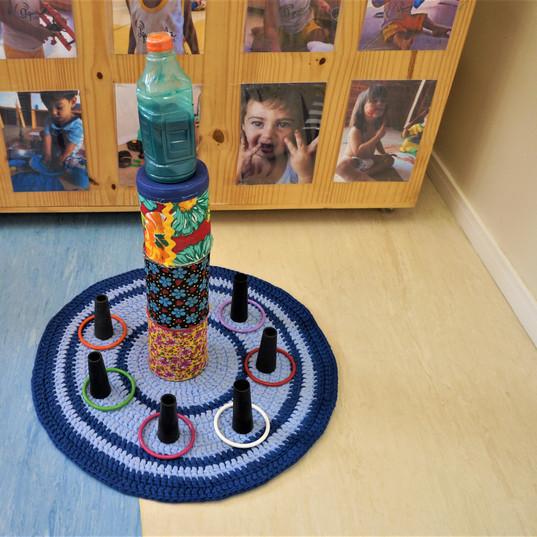 Aquarela Espaço Infantil: brinquedos não estruturados