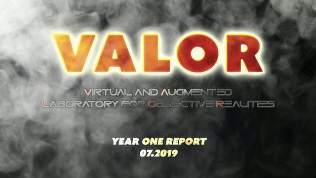VALOR @ PSCR Conference 2019