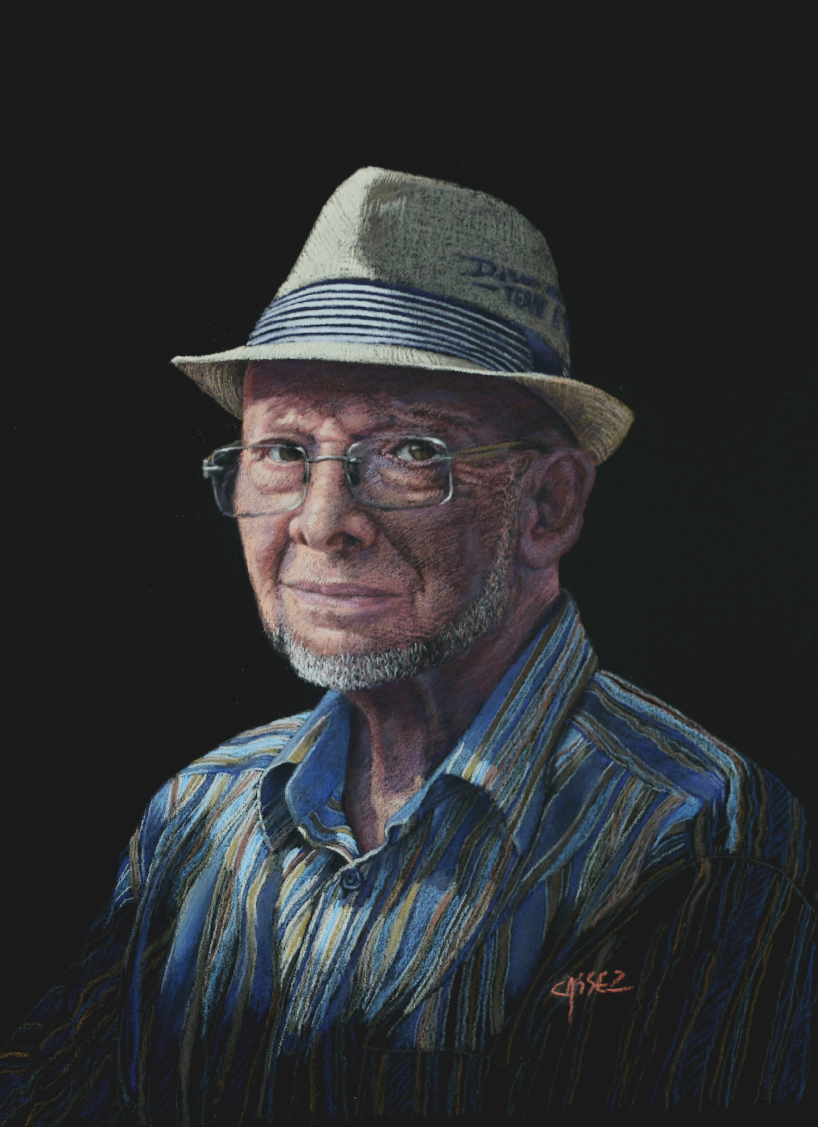 Portrait de Jean-Pierre M.