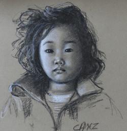 Portrait d' Elisa