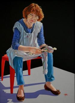 Autoportrait à l' Atelier