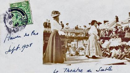 Havre des Pas beach Theatre (Victorian)  Courtesy of The Island Wiki https://www.theislandwiki.org