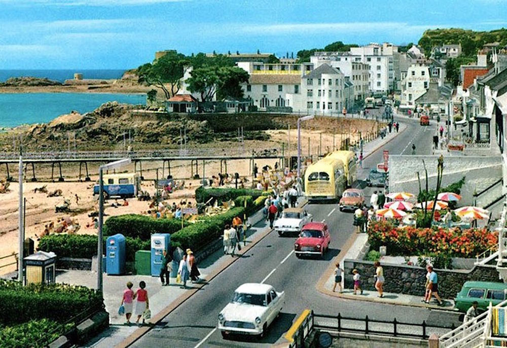 Havre des Pas in the mid sixties Courtesy of The Island Wiki