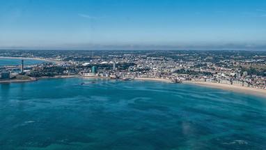 Havre des Pas and Greve'd'Azette today.  (Photo - Colin Griffiths)