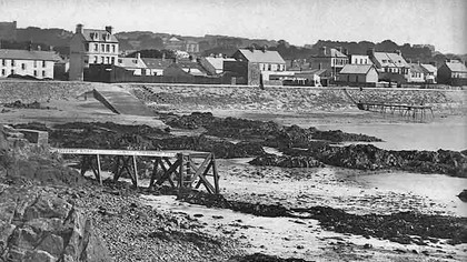 La Collette Diving Stages1910   Courtesy of The Island Wiki