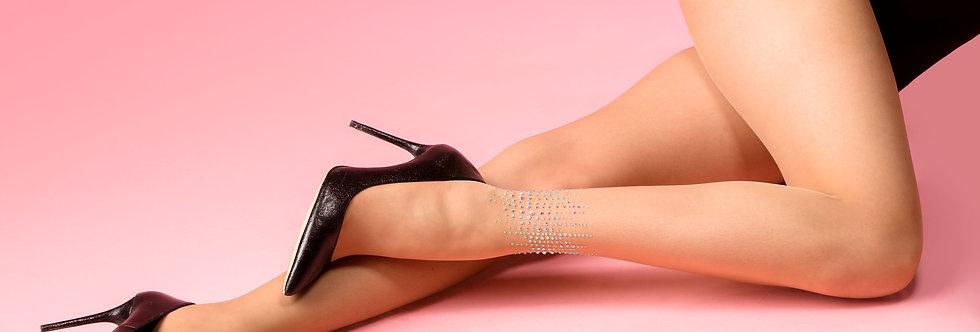 Glitter mist tights