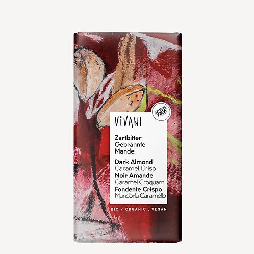 Vivani Dark Almond Caramel Crisp