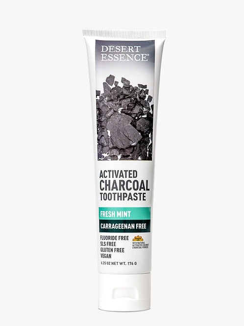 ACTIVATED CHARCOAL CARRAGEENAN FREE TOOTHPASTE