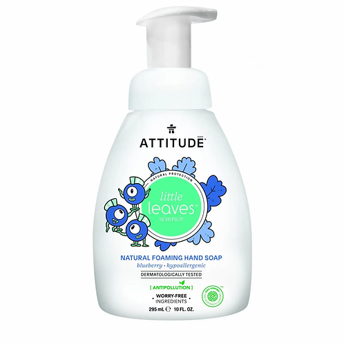 ATTITUDE little leaves Natural Foaming Hand Soap - Blueberry