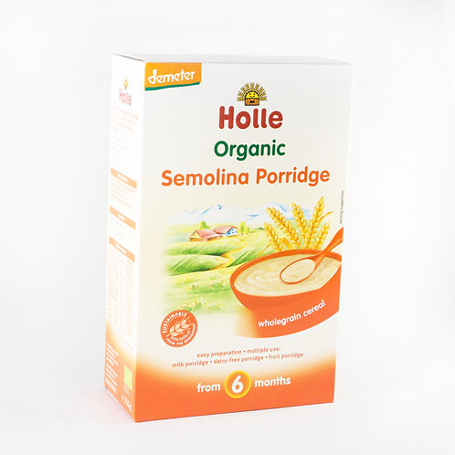 Holle Semolina (UK) Porridge