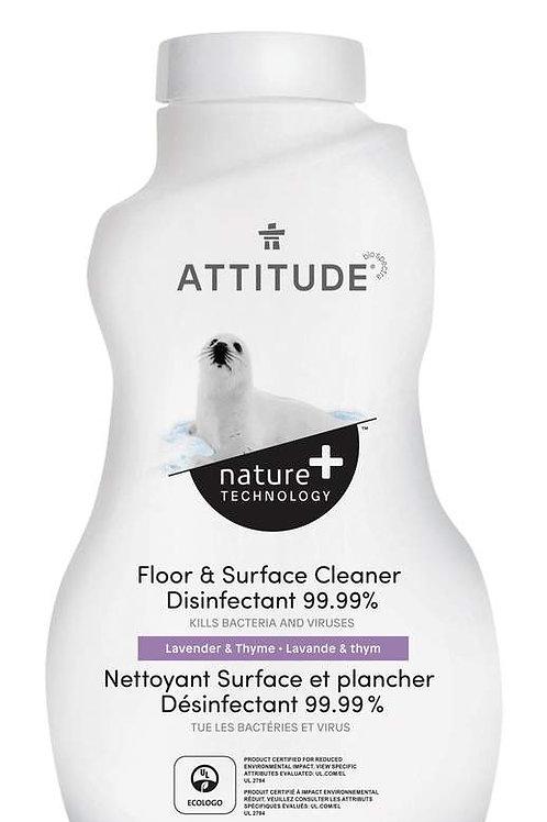 Attitude Floor & Surface Cleaner Disinfectant 99.99%