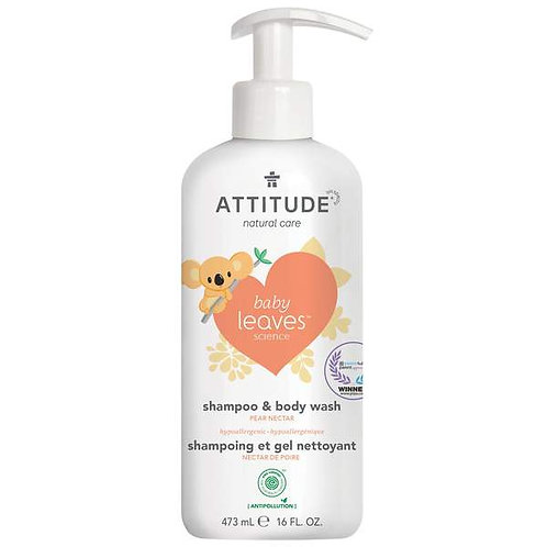 ATTITUDE 2-1 Shampoo + Body Wash
