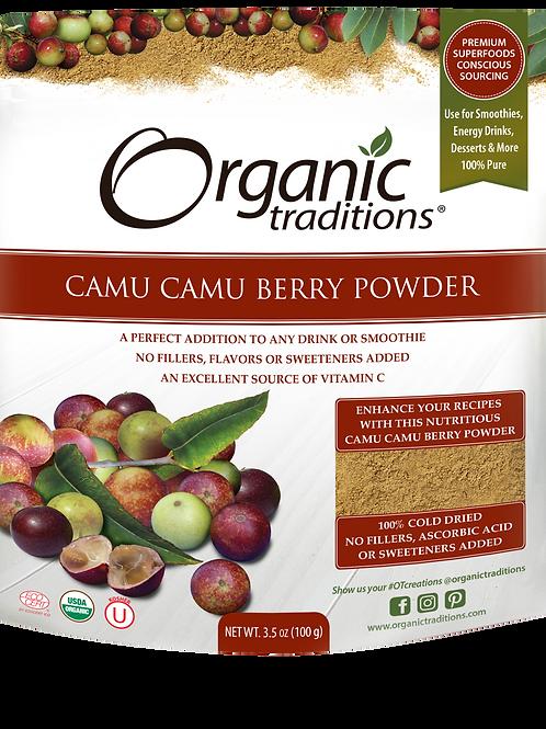 Organic Traditions Camu Camu Berry Powder