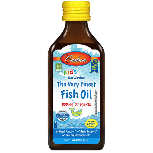 Carlson's The Very Finest Kids Fish Oil