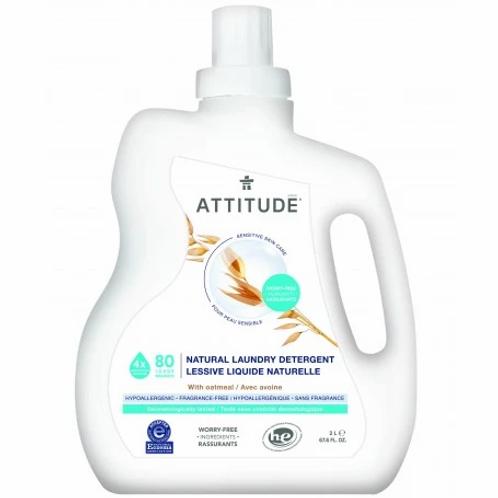 Attitude Sensitive Laundry Detergent