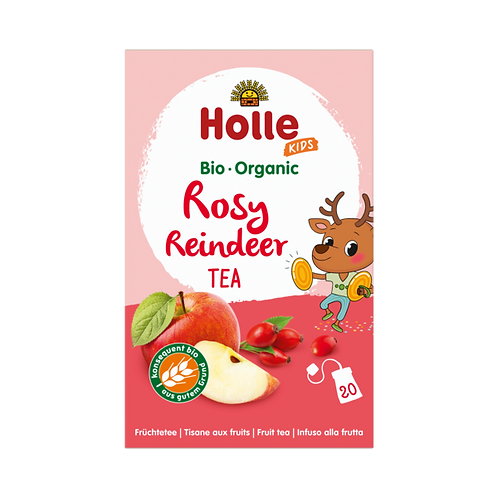 Holle Rosy Reindeer Kids Organic Tea