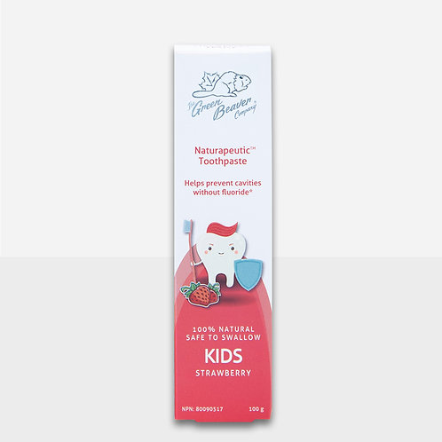 Green Beaver Naturapeutic Kids Toothpaste (Strawberry)