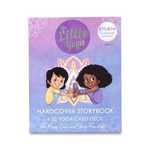 The Little Yogis Storybook + 32 Yoga Card Deck