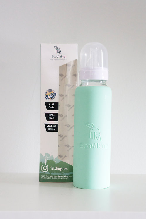 EcoViking Tall Bottle - Mint Green