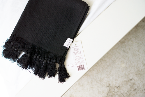 Oversized Turkish Towel - Abyss