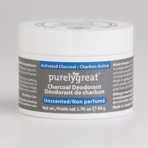 Purely Great Charcoal Deodorant (unscented)