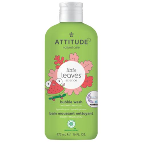 Attitude Little Leaves Bubble Wash - Coconut & Watermelon