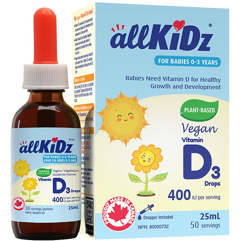 allKidz Vegan D3 Drops