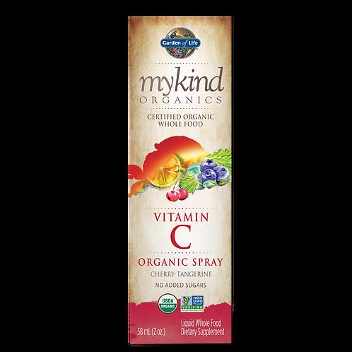 Garden of Life mykind Organics Vitamin C Organic Spray - Cherry Tangerine