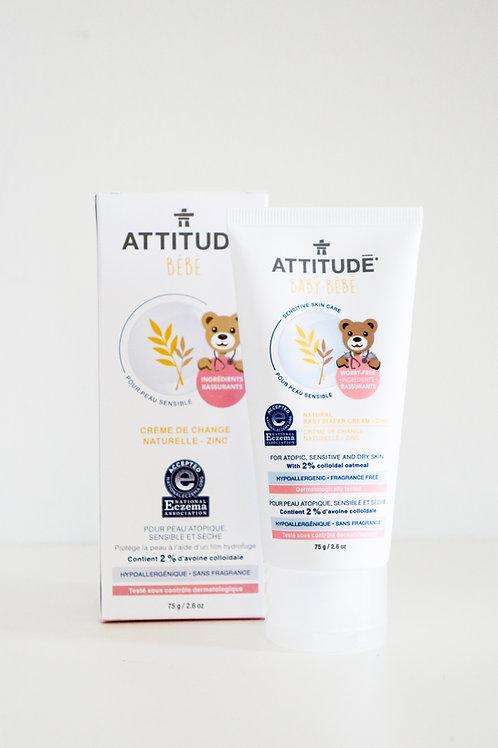 ATTITUDE  Baby Diaper Cream