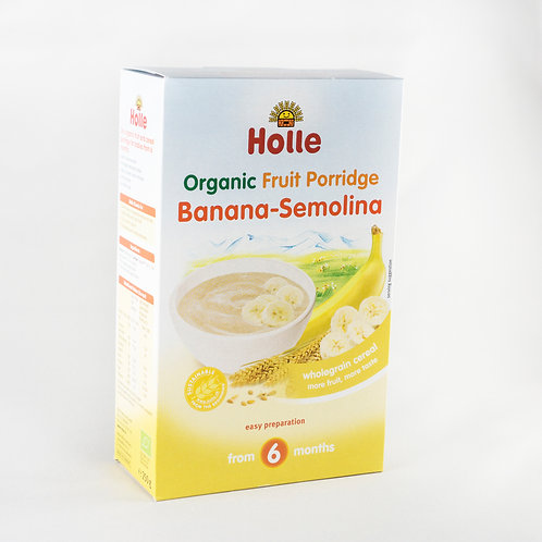 Holle Banana - Semolina (UK)