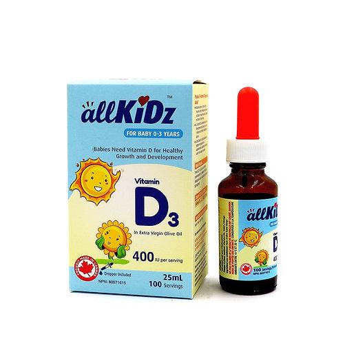 all KiDz Vitamin D3