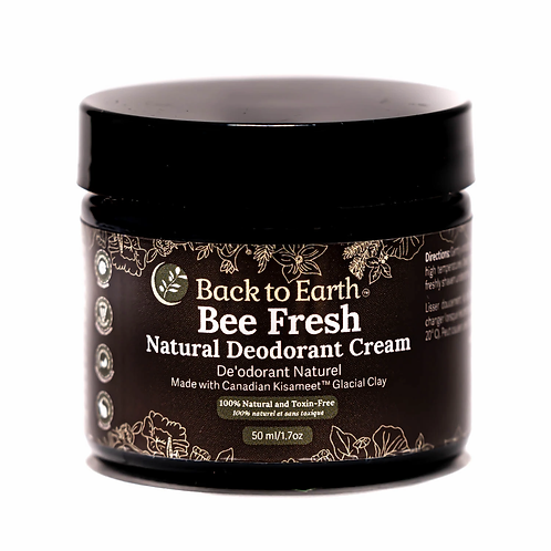 Back to Earth Bee Fresh Natural Deodorant Cream