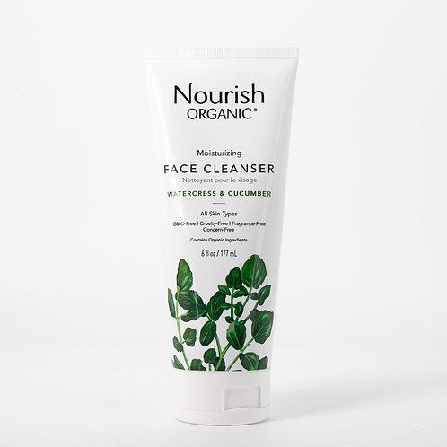 Nourish Organic Moisturizing Face Cleanser