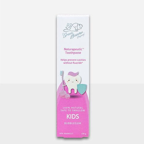 Green Beaver Naturapeutic Kids Toothpaste (Bubblegum)
